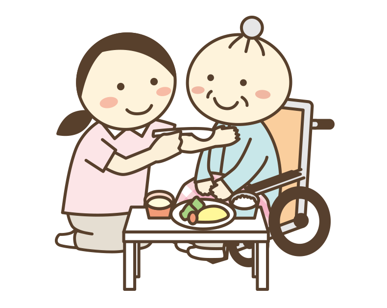食事の介助